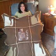 Cat Motif Blanket