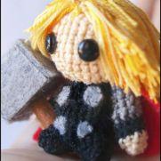 Thor Amigurumi - Marvel - La Calabaza de Jack