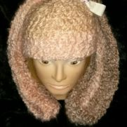 Freestyle baby girl bunny hat