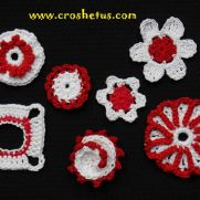 Mini crochet accessories/applique