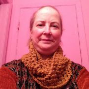 Simple Crochet Infinity Scarves Co-designed With Mom