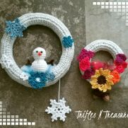 Fall into Winter Wreaths