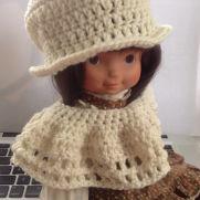Doll Hat & Poncho
