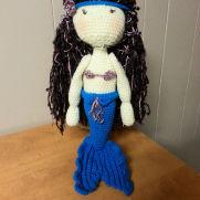 Crocheted Mermaid Doll