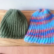 Loomed hats