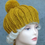 Crochet beret Magdolina