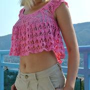 Crochet Summer Top Free Pattern