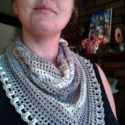 Cleavage cover scarf