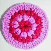 Puff Stitch Coaster