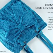 Big Bow Crochet bag