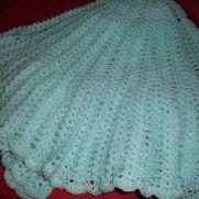 Mint Crochet Shawl
