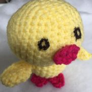 Baby chick named CUTE