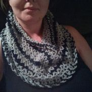 Aunt Margie's shimmery cowl