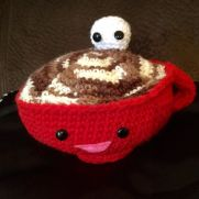crochet hot chocolate