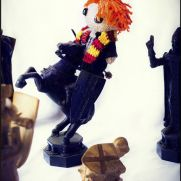 Ron Weasley Amigurumi - Harry Potter - La Calabaza de Jack