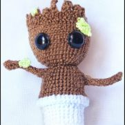 Groot Amigurumi - Guardians of the Galaxy - La Calabaza de Jack