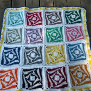 Granny Square CAL....turned into this.