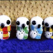 Hogwarts owls Amigurumis - Harry Potter - La Calabaza de Jack