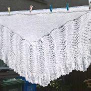 1ply shetland shawl