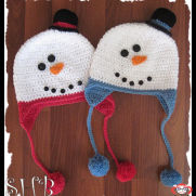 Snowmen Crochet Hats