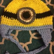 Minion hat inspired by a lovely Sunday