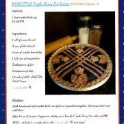 Crochet Triple Berry Pie