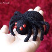 Spider Amigurumi - La Calabaza de Jack