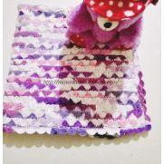 Crochet Baby Blanket - Catherine Wheel / Starburst Stitch