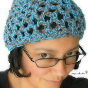 Penelope's Beach Beanie free crochet pattern – Newborn to Adult sizes
