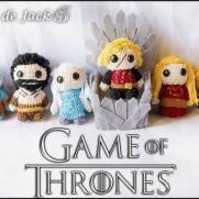 Game of Thrones Amigurumis - La Calabaza de Jack