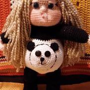 I call her Sara Lynn, Panda Girl