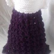 purple girl dresses, newborn dress, crochet baby dress, crochet girl dress, crochet baby dresses