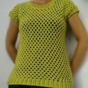 Lime Green Seamless Tee