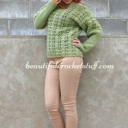 Crochet Sweater (Pullover) Free Pattern