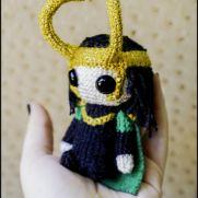 Loki Amigurumi - Marvel - La Calabaza de Jack