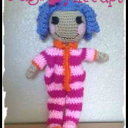 Pillow Featherbed Crochet Lalaloopsy Doll