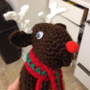 Reindeer & Snowman Wine Toppers