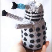 Dalek Amigurumi - Doctor Who - La Calabaza de Jack