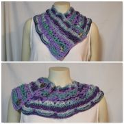 Roxy's Cowl in Loops and Threads Joy DK in Malibu