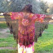 Black Butterfly Shawl