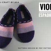 Violet espadrilles