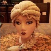 Elsa inspired wig/hat