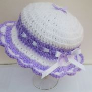 Frilled summer hats
