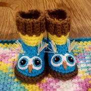 Crocheted Baby Shower Gift Set