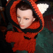 Olivia's Lil Fox Hooded Cowl