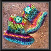 Carousel Slipper Boots