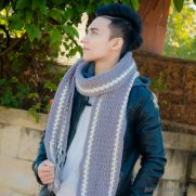 The Norton men scarf