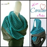 Coraline in Minden - Oversized Cowl Wrap