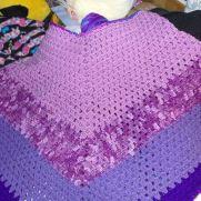 Purple Poncho I