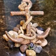 Ship Anchor for crochet aquarium